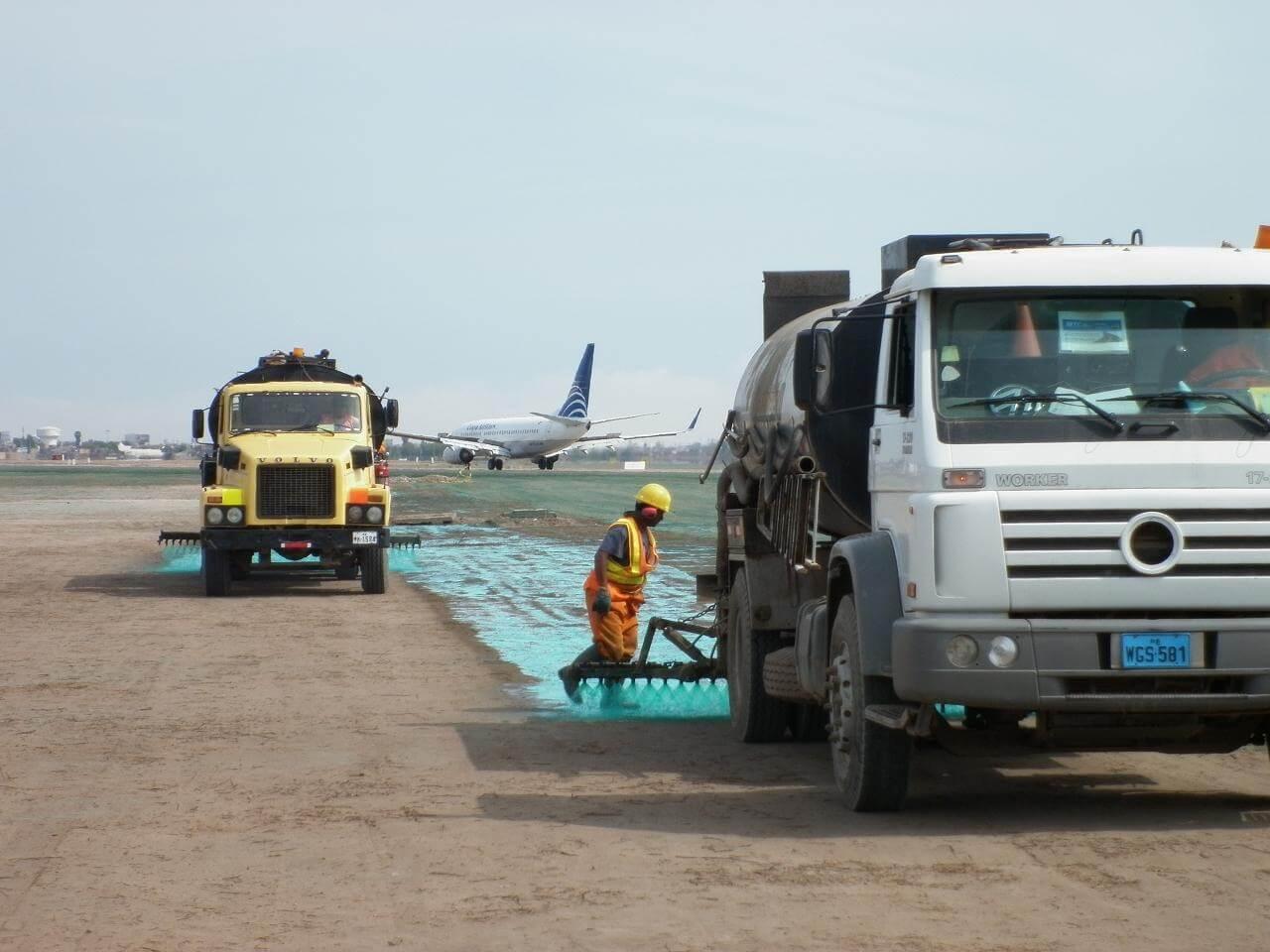 Paisajismo Aeropuerto de Lima