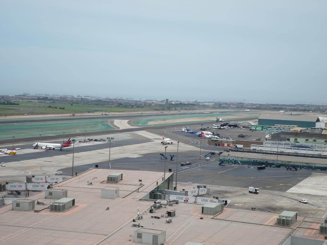 Solución terminada Aeropuerto de Lima